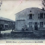 Carte ancienne - La scierie hydraulique - Bonzée