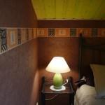 La chambre marron pour 2 personnes - Gîte Le moulin aux champs