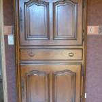 Armoire de la chambre marron - Gîte en Lorraine