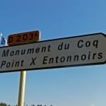 Monument du coq - Point X et entonnoirs - Première Guerre Mondiale - Meuse