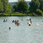 La base de loisirs du lac vert - Baignade en Meuse