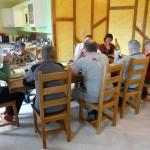 Salle à manger - Capacité du gîte : 10 personnes - Meuse